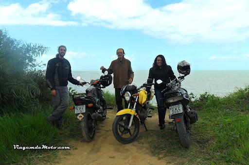 Viagem de moto pelo Nordeste do Brasil