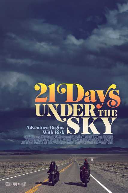 Filme sobre viagem de moto - 21 days under the sky