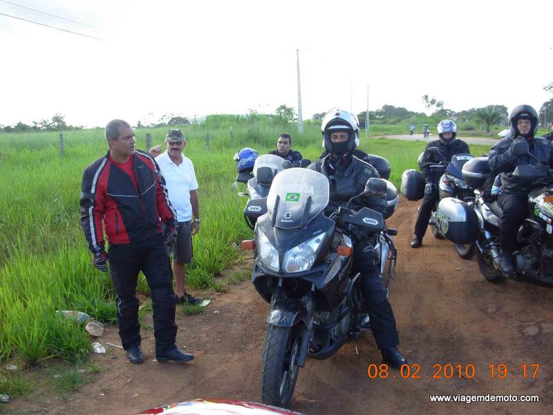 Viagem de moto pelo Acre