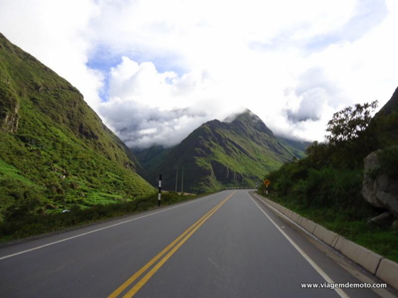 Viagem de moto pelo Peru