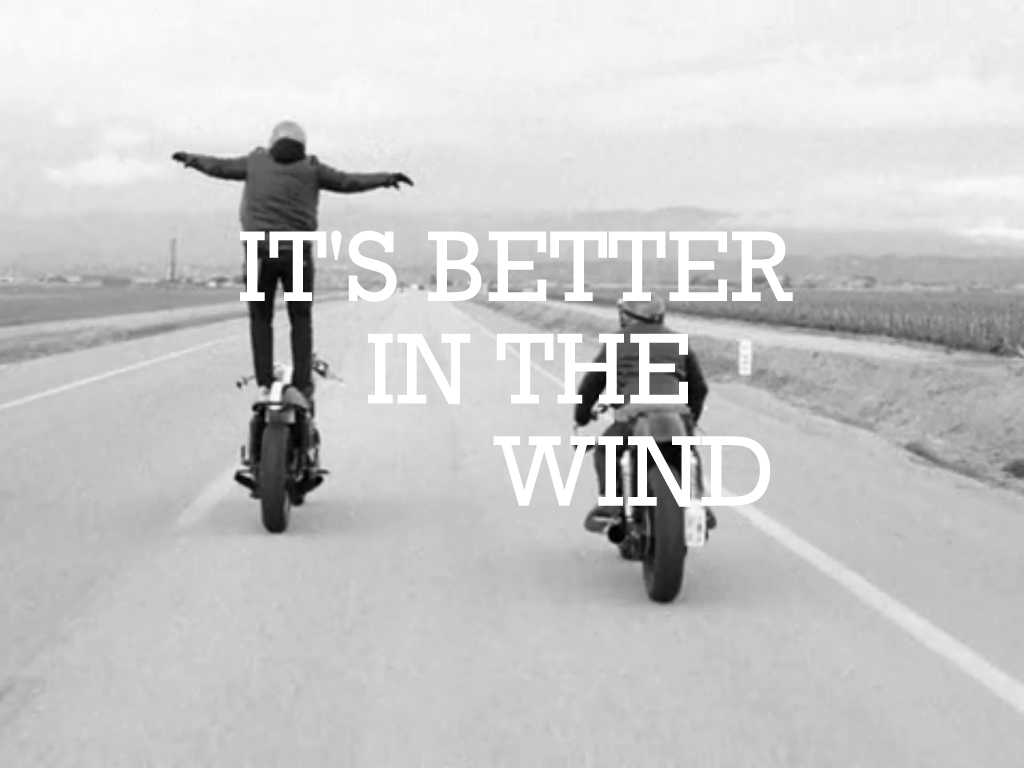 It's Better In The Wind