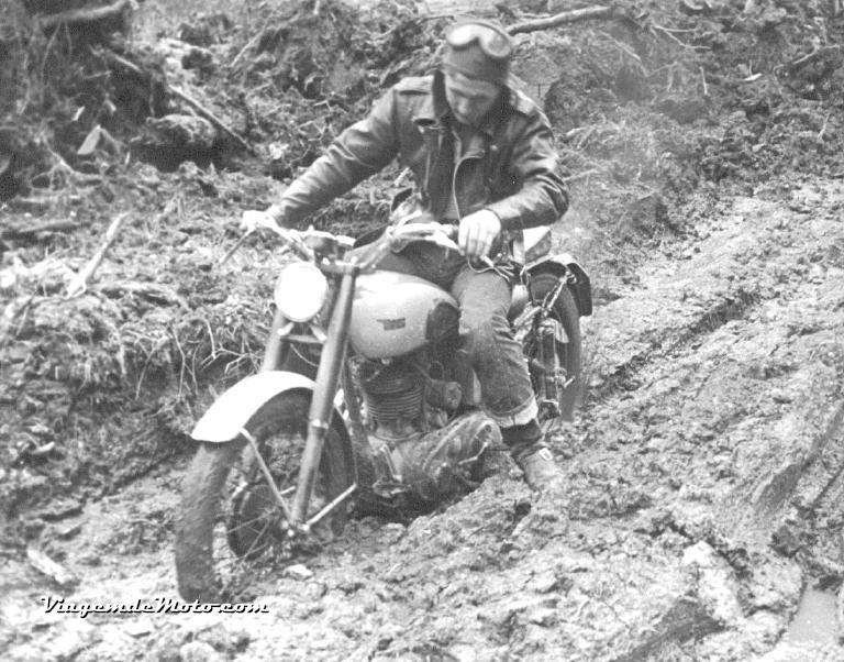 Slow Motion on BSA year 1952