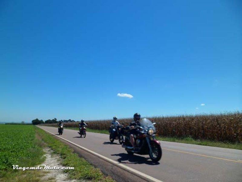 Viagem de moto até o Cânion do Guartelá