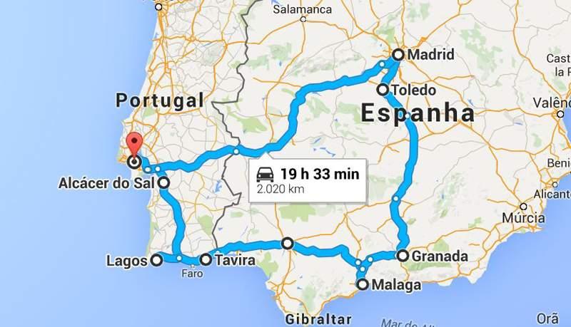 Um casal de moto por Portugal e Espanha 2d3b282ebbc1b