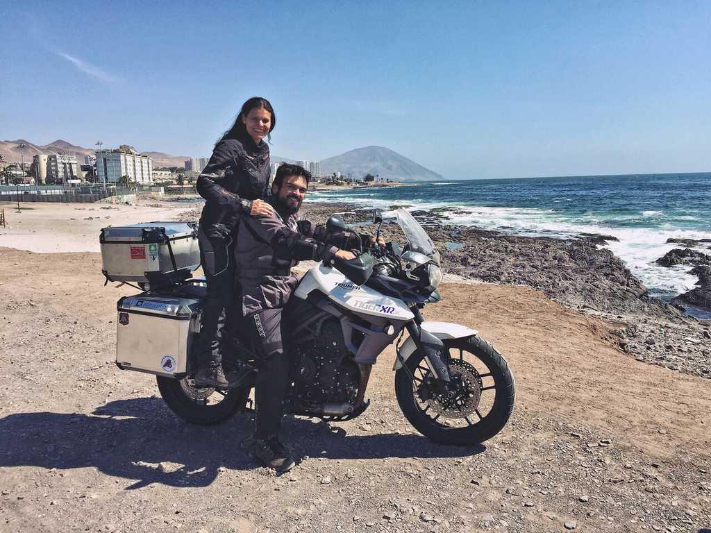 Viagem de moto até o Deserto do Atacama no Chile