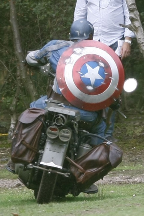 Moto do Capitao America