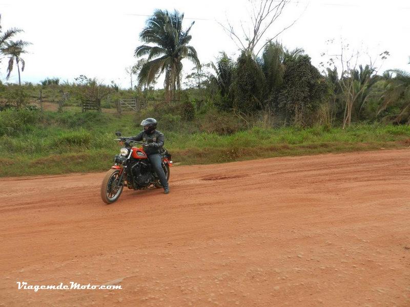 Viagem de moto pela Rodovia Transamazônica