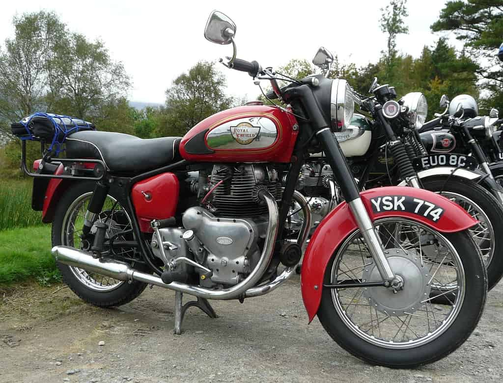 Historia royal enfield meteor minor