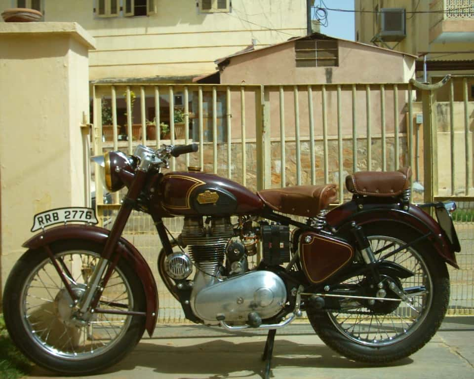 Historia royal enfield model g