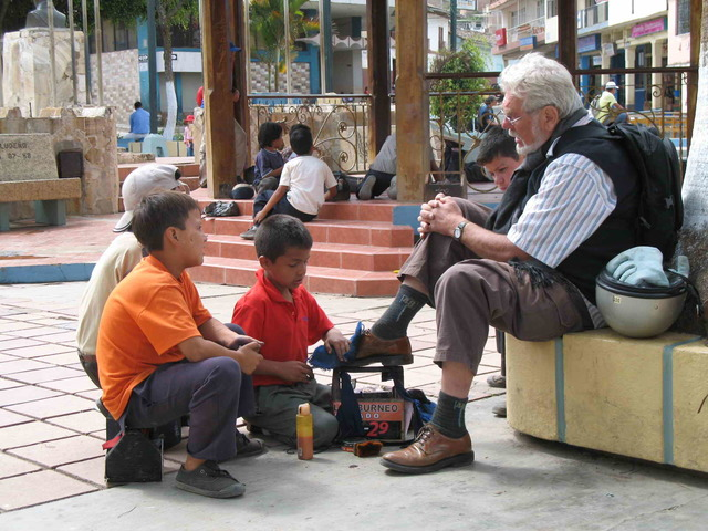 Peru best shoe shine