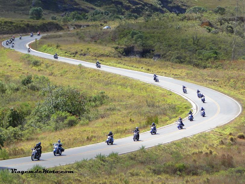Melhores estradas para viajar de moto