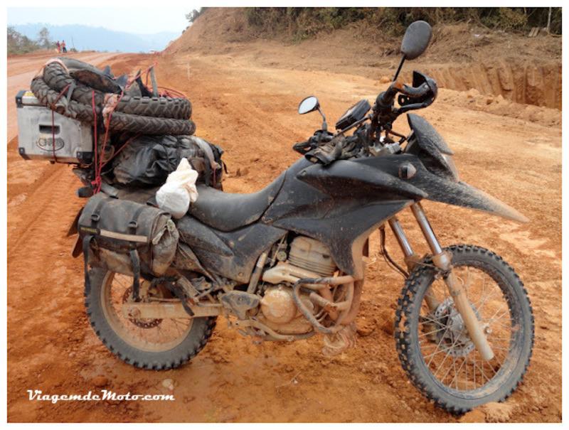 Viagem de moto pela Transamazônica
