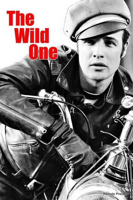 Filme sobre motociclismo - The Wild One