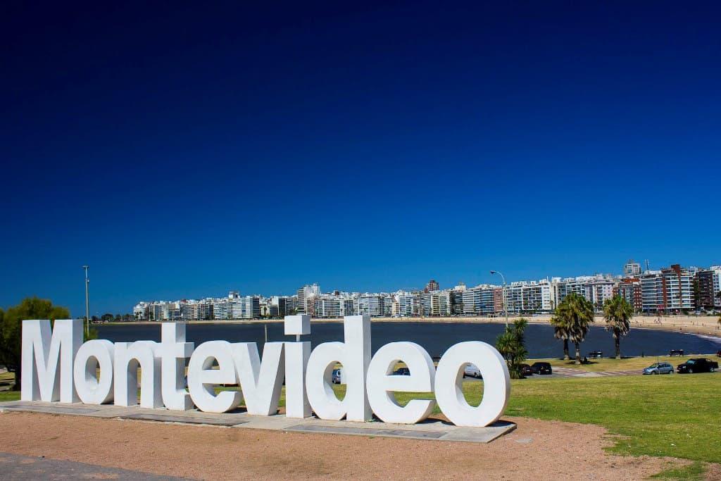 Viagem de moto pela América do Sul - Montevideo